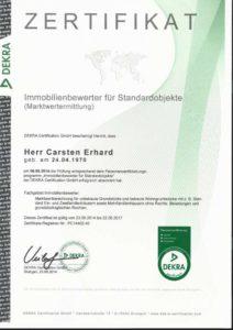 Zertifikat Immobilienbewerter Würzburg